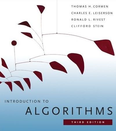 cormen book introduction to algorithms